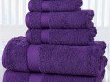 Royal Purple Bath Rugs Love This Royal Purple Egyptian Cotton Six Piece towel Set