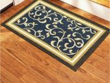 Rubber Mats for Under area Rugs Non Slip Door Mat Rubber Back Landing Mat area Rug Low