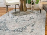 Rug Adhesive for area Rugs Natural area Rugs Vintage oriental Rug Sarafina Collection Polypropylene Rug Imported From Turkey Blue 6 X 9