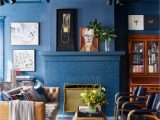 Rug with Blue Accents 17 Distinctive Ways to Decorate with Blue Walls In Every
