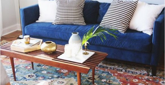 Rug with Blue Couch Design Updates In the Living Room Annabode Denvers 1