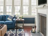 Rug with Blue Couch Impressive Ikat Rug In Family Room Beach Style with Virtual