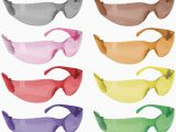 Rugged Blue Diablo Safety Glasses Safe Handler Full Color Safety Glasses
