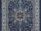 Rugs Brown and Blue andover Mills Tremont Fuller Navy Blue Brown area Rug