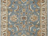 Rugs Brown and Blue Rizzy Home Volare Collection Wool area Rug 9 X 12 Blue Brown Tan Blue Lt Teal Lt Brown Border