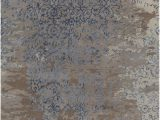 Rugs Brown and Blue Rupec Collection Hand Tufted area Rug In Grey Blue Brown