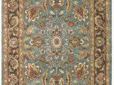 Rugs Brown and Blue Safavieh Heritage Hg812b Blue Brown area Rug