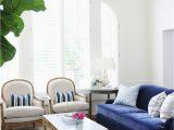 Rugs for Blue sofa 25 Stunning Living Rooms with Blue Velvet sofas