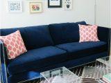 Rugs for Blue sofa Blue Velvet sofa Purple Rug Lucite Tables