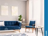Rugs for Blue sofa Elegant Living Room Interior with A Dark Blue Couch and A