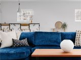 Rugs for Blue sofa Stylist Bret Alexandra with Guesthouseshop Created This