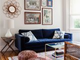 Rugs that Go with Blue Couch Blue Velvet sofa Leopard Settee and Mostly Pink Rug