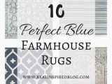 Rugs with Blue In them 10 Perfect Blue Farmhouse Rugs Farmhouse Rugs Living Room