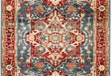 Rugs with Blue In them Trans Ocean Hampton Heriz 635603 Blue area Rug