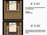 Rules for area Rug Placement Sugar Cube Interior Basics area Rug Size Guides for Twin
