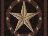 Rustic Texas Star area Rugs 3 11 W X 5 3 L Rustic Lodge Texas Star area Rug 3 11