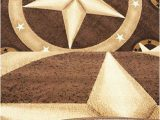 Rustic Texas Star area Rugs Champion Rugs Texas Western Star Rustic Cowboy Decor Novelty