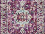Safavieh Adirondack Esmond Abstract Faded area Rug Viviana Transitional and Contemporary Medallion Purple Beige Blue area Rug