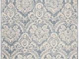 Safavieh Blossom Blue area Rug Safavieh Blossom Blm106m Blue Ivory area Rug