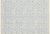 Safavieh Blue and Ivory Rug Safavieh Cambridge Cam123a Light Blue Ivory area Rug