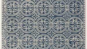 Safavieh Blue and Ivory Rug Safavieh Cambridge Cam123g Navy Blue Ivory area Rug