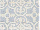Safavieh Blue and Ivory Rug Safavieh Cambridge Cam133a Light Blue Ivory area Rug