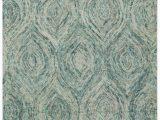 Safavieh Blue Wool Rug Ikat Handmade Tufted Wool Ivory Blue area Rug