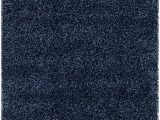 "Safavieh California solid Plush Shag area Rug or Runner Safavieh California Premium Shag Collection Sg151 7070 2 Inch Thick area Rug 2 3"" X 5 Navy"