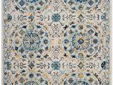 Safavieh Evoke Blue Ivory Rug Safavieh Evoke Evk252c Ivory Blue area Rug