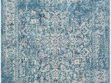 Safavieh Evoke Blue Ivory Rug Safavieh Evoke Evk256c Blue Ivory area Rug