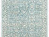 """Safavieh Evoke Blue Ivory Rug Safavieh Evoke Evk270d Light Blue Ivory 5 1""""x5 1"""" Square"""