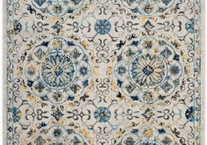 Safavieh Evoke Ivory Blue Rug Safavieh Evoke Evk252c Ivory Blue area Rug