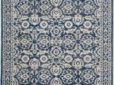 Safavieh Evoke Vintage Ivory Blue Distressed Rug Safavieh Evoke Evk216f Royal Ivory Dark Blue Rug Blue