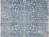 Safavieh Evoke Vintage Ivory Blue Distressed Rug Safavieh Vtp484m 6 Rug 6 X 9 Blue Ivory