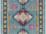 Safavieh Madison Vintage Tribal Blue orange Rug Rug Mad305m Madison area Rugs by Safavieh