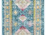 Safavieh Madison Vintage Tribal Blue orange Rug Rug Mad305r Madison area Rugs by Safavieh