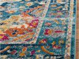 Safavieh Madison Vintage Tribal Blue orange Rug Safavieh Madison Power Loomed area Rug 53 X 76