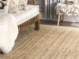 Safavieh Natural Fiber Levi Braided area Rug or Runner Maui Jute Braided F White Rug