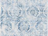 Safavieh Princeton Rug Blue Beige Safavieh Princeton Collection Prn717m area Rug 2 6 X 4 Blue Beige
