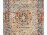 Safavieh Vintage Persian Blue Multi Distressed Rug Safavieh Vintage Persian Blue and Multi 4 X 6 area Rug