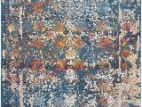 Safavieh Vintage Persian Blue Multi Distressed Rug Safavieh Vintage Persian Collection Vtp409k area Rug 6 X 9 Turquoise Multi