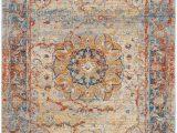 Safavieh Vintage Persian Blue Multi Distressed Rug Safavieh Vintage Persian Vtp435b Blue Multi In 2020