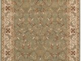 Sage Green area Rug 8×10 Superior Heritage 8 X 10 Green area Rug Contemporary Living Room & Bedroom area Rug Anti Static and Water Repellent for Residential or Mercial