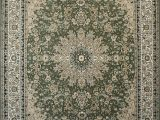 Sage Green area Rugs Target New City Sage Green Traditional isfahan Wool Persian area Rugs 5 2 X 7 3