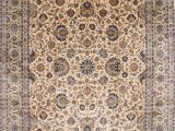 """Sam S Club Large area Rugs Kashan Blue Hand Knotted 12 0"""" X 17 8"""" area Rug 254"""