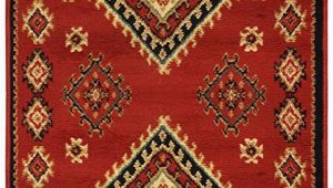 Santa Fe Style area Rugs Superior Traditional Santa Fe Collection 2 6x 8 Runner Red
