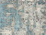 Sebbie Sky Blue Aqua area Rug Kas Watercolors Rugs Abstract area Rugs