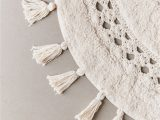 Semi Circle Bath Rug Crochet Sun Bath Mat