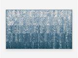 Serenata Slate Blue Rug Washable Rug Cover 3 X5