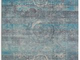 Shabby Chic Style area Rugs Rugsmith Mirage area Rug 5 X 7 Turquoise